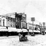 Downtown Albion 1920